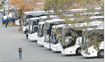Google's Fleet of Commute Buses
