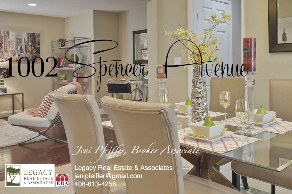 Jeni Pfeiffer Presents 1002 Spencer Avenue in Willow Glen