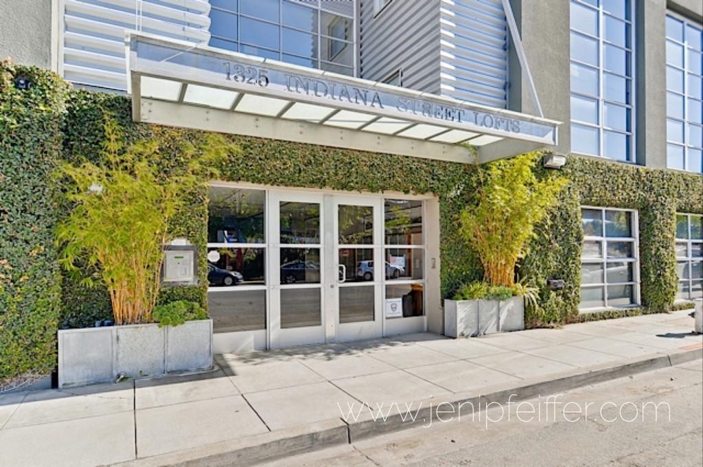 1325 Indiana Street LOFTS San Francisco. Courtesy Jeni Pfeiffer