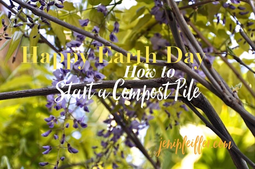 Start a Compost Pile. Photography Jeni Pfeiffer