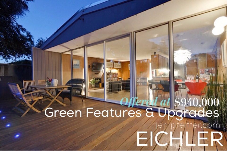 Eichler Home with Green Upgrades_Courtesy Jeni Pfeiffer